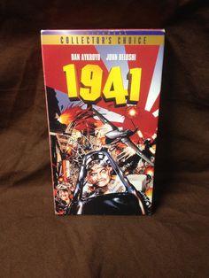 1941 VHS 1979 Dan Aykroyd John Belushi by HECTORSVINTAGEVAULT