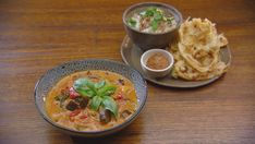 Thai Red Duck Curry with Roti Canai and Coconut Rice