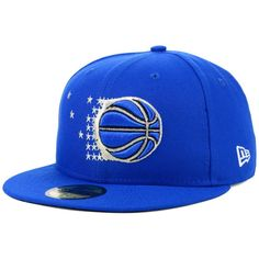 on sale d0544 ff844 Orlando Magic New Era Hardwood Classic Nights 59FIFTY Fitted Hat - Blue,  Your Price