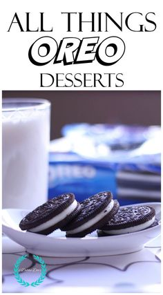 If you love Oreo cookies as much as I do...or your kids love them, You must check out these recipes I have done with All things Oreo.  Mostly no-bake but one that is not that will knock your socks off!