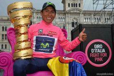 2014 giro-d'italia winner Nairo Quintana