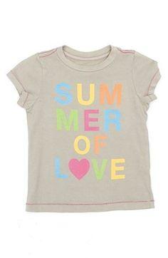 dba19d2abaed52 Summer of love tee Tween Fashion