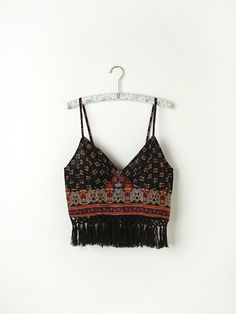 Free People FP ONE Along the Fringe Bralette, AU63.65