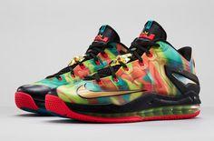 "43761b3abd75 Nike LeBron 11 Low SE ""Multicolor†(Release Info"