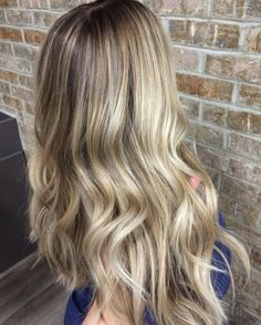 Blonde hairstyles to try for 2018. Ashy blonde balayage