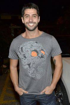Marcelo na festa do Hugo Gloss