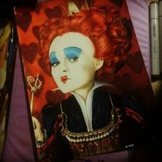 Leonan Paes to Desenh4ndo - Rainha de Copas