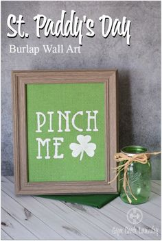 Easy DIY Burlap Wall