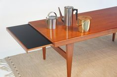 Swedish teak coffee table c.1960's. Arne Jacobsen for Stelton. #midcentury #design