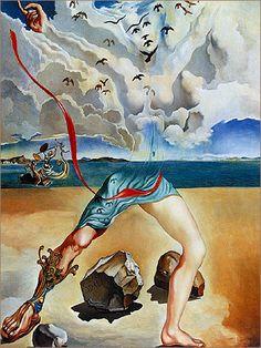 """Mural Painting for Helena Rubinstein"" •  SALVADOR DALÍ."