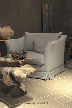 fauteuil in showroom Hoffz