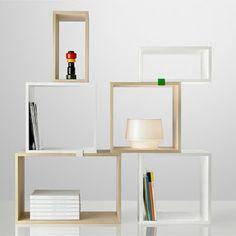 koradecora: estanterías con cajas