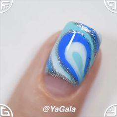 Happines is freshly painted nails Crazy Nail Art, Pretty Nail Art, Beautiful Nail Art, Stylish Nails, Trendy Nails, Cute Nails, Nail Art Designs Videos, Nail Art Videos, Nail Art Hacks