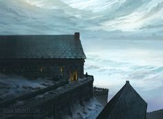 The town of Dragonfell, near the Ever-Reach? Or somewhere different?(Kjeldoran Outpost by noahbradley)