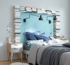 books around the headboard find this pin and more on tete de lit