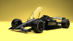 Dutch designer Andries van Overbeeke shows a new spin on F1 cars, with changes like closed cockpits