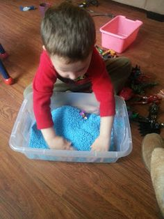 Children At Play: Colored Rice for Fun Sensory Play!
