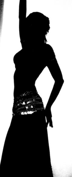 Belly Dancer Silouette