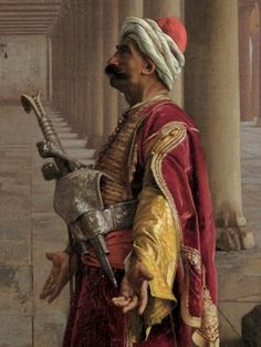 Prayer at the Mosque (Detail) by Jean Leon Gerome Traditional Paintings, Traditional Art, Larp, Middle East Culture, Arabian Art, Greek Warrior, Desert Art, Historical Art, Metropolitan Museum