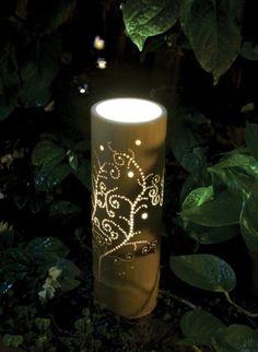 Lámpara de Bambu