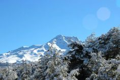 Winter - Snow on Mountains Winter Snow, Volcano, Mount Everest, Outdoors, River, Mountains, Landscape, Nature, Outdoor