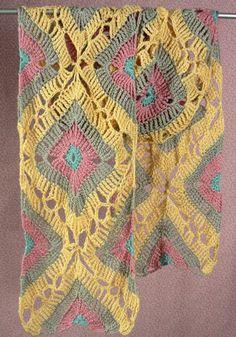 Free Crochet Pattern: Sandals Wrap – Make It Crochet