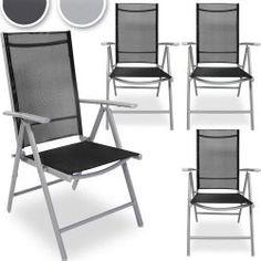 Alumiinituoli 4kpl, 159,95€. Tästä neljä kappaletta käytännöllisillä ominaisuuksilla varustettuja tuoleja. Voit rennosti ottaa aurinkoa tuolessa selkänojan säädön ansiosta. Selkänojan voi säätää 5 eri asentoon ja selkänoja antaa hieman periksi joten istuinmukavuus tuolissa on erinomainen. Värivaihtehtoja on vaalean ja tumman harmaa. Voit helposti yhdistää muihin alumiiniryhmiin lisää tuoleja! #alumiinituoli