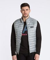 Versace Jeans Light Reversible Gilet - Grey Mens Versace Jeans Gilets - Versace Jeans Clothing R64d8