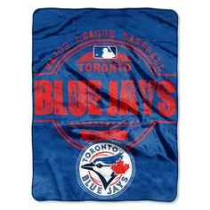 Prove you are the Toronto Blue Jays fan with this x structure micro raschel plush blanket from The Northwest Company! It's made of polyester and features Toronto Blue Jays colors with sublimated graphics and a rib-knit trim. Mlb Texas Rangers, Blue Throws, Toronto Blue Jays, Major League, Chicago Cubs Logo, Plush, Sports, Baseball Toronto, Sport