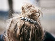 jeweled bun