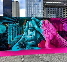 Mr Dheo street art
