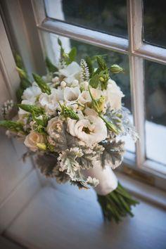 Blue, purple, & silver winter wedding  |  jennie andrews photography