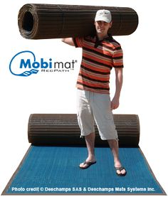 Mobi-Mat® RECPATH™ ADA Beach Access Mat