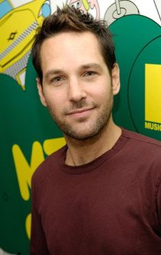 I am strangely attracted to Paul Rudd