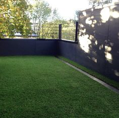 Synthetic grass.