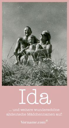 Dir gefallen alte deutsche Vornamen? Hier findest Du die schönsten Mädchen- und Jungennamen aus vergangenen Zeiten, die nun wieder modern sind.
