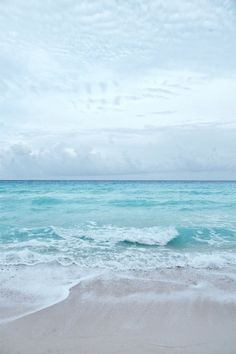 Beach Photography Ocean Sea Summer Aqua Blue by JarrodCorbett