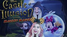 Castle of Illusion Starring Mickey Mouse Gameplay - Full Game Episodes - Disney Cartoon Game - YouTube