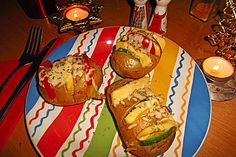 Gefächerte Ofenkartoffeln (Rezept mit Bild) von Marioyal | Chefkoch.de