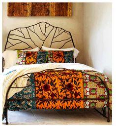 Ghanaian African Print Duvet & Shams Set