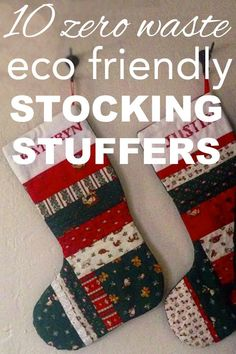 I am currently figuring out what I'm going to include in Justin's stocking which is bringing about a zero waste stocking dilemma. Presents seem to be easier because they can be ANY size. But, stocking stuffers have to be small... they have to fit in a stocking. I've had a lot of fun findin