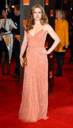 amy adams @ 2011 bafta awards. Elie Saab. Love!!