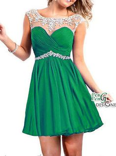 New Short/Mini Prom Party Evening dress Homecoming Dresses bridesmaid Graduation