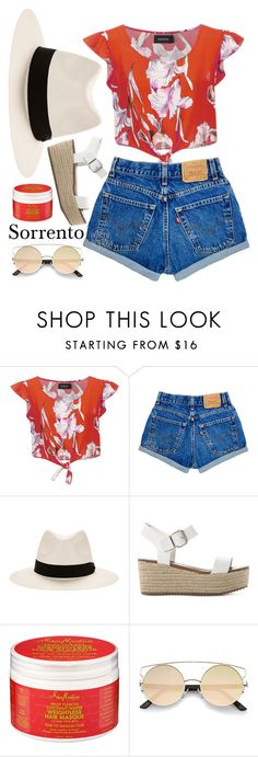 """""""Walking in Sorrento"""" by aure-white ❤ liked on Polyvore featuring MINKPINK, rag & bone and Steve Madden"""