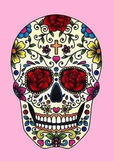 Mildly obsessed with sugar skulls