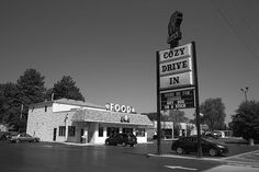 Route 66 - Cozy Dog Drive In, on old Rt. 66 in Springfield, Illinois.