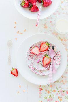 Fresh Strawberries and Granola... | Flickr - Photo Sharing!
