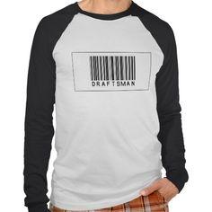 Barcode Draftsman T Shirt, Hoodie Sweatshirt