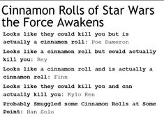 Accurate post is accurate (looks like they could kill you but is actually just a - Droids Star Wars - Ideas of Droids Star Wars - Accurate post is accurate (looks like they could kill you but is actually just an angry cinnamon roll: Kylo Ren) Finn Star Wars, Star Trek, Star Wars Kylo Ren, Reylo, Star War 3, What Do You Mean, The Force Is Strong, Bad Feeling, Carrie Fisher
