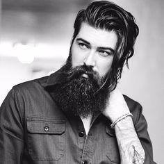 "Lane Toran voice of ""Hey Arnold"" Beautiful Beard Styles For Men, Hair And Beard Styles, Long Hair Styles, Sexy Beard, Epic Beard, Great Beards, Awesome Beards, Long Hair Beard, Beard Haircut"